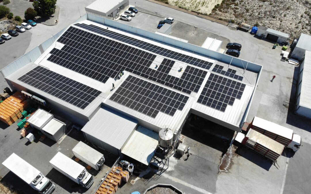 Delivering green energy to the factory